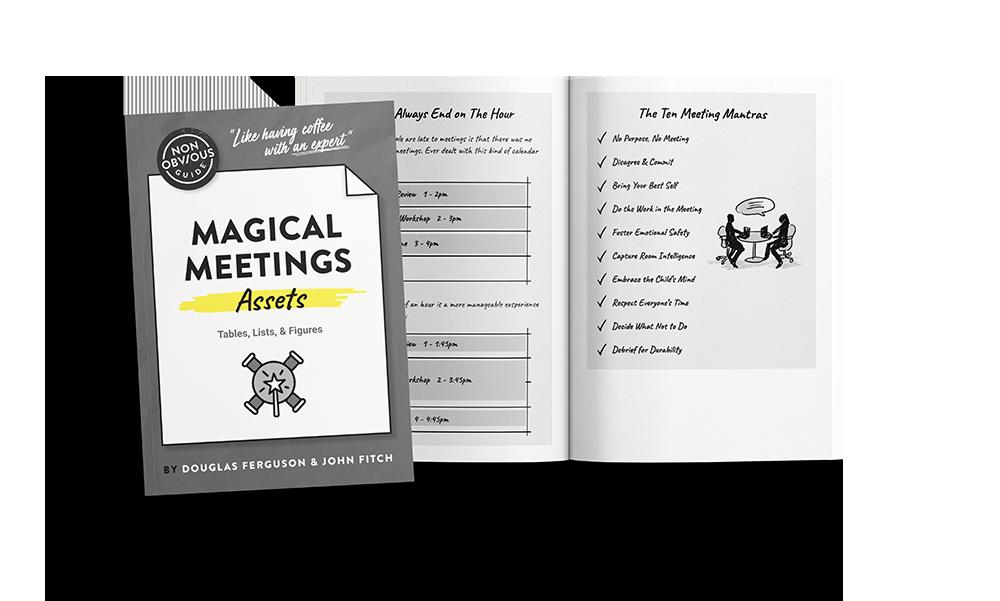 Magical Meetings Book Assets